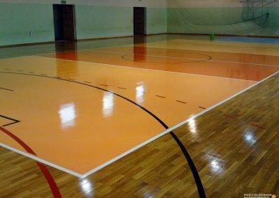 efekt końcowy cyklinowania sali sportowej w kłodzku (1)