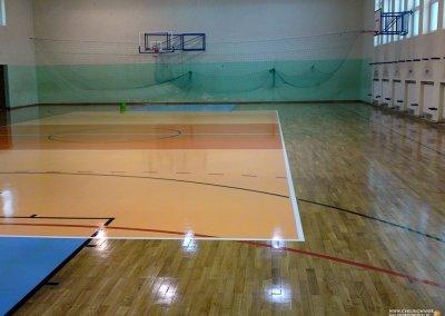 efekt końcowy cyklinowania sali sportowej w kłodzku (2)