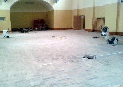 Cyklinowanie sali gimnastycznej - Trzebnica 18