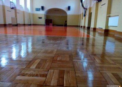 Cyklinowanie sali gimnastycznej - Trzebnica 15