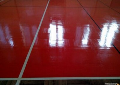 Cyklinowanie sali gimnastycznej - Trzebnica 16