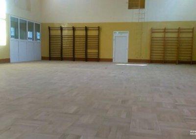 Cyklinowanie sali gimnastycznej - Trzebnica 5