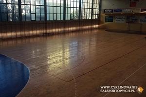Rozpoczęliśmy renowację kolejnej sali sportowej