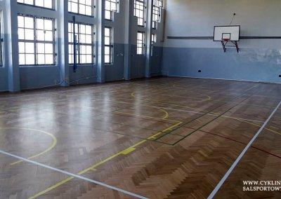 cyklinowanie sali gimnastycznej Wiązów (1)