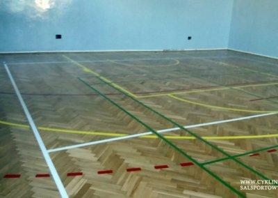 cyklinowanie sali gimnastycznej Wiązów (2)