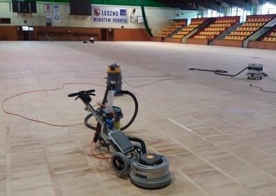 cyklinowanie sali sportowej - Spider
