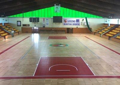 cyklinowanie sali sportowej w Lesznie - zdjęcie główne