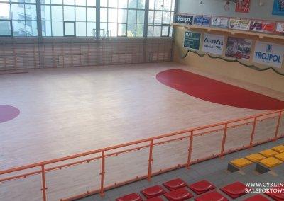 Malowanie boiska na podłodze w hali sportowej (1)