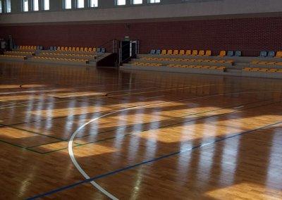 Cyklinowanie sali sportowej - okolice Ostrowa Wielkopolskiego (1)