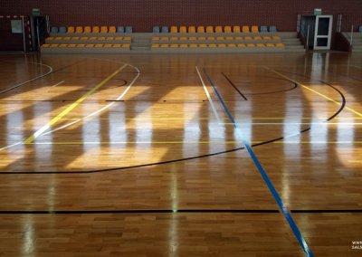 Cyklinowanie sali sportowej - okolice Ostrowa Wielkopolskiego (5)